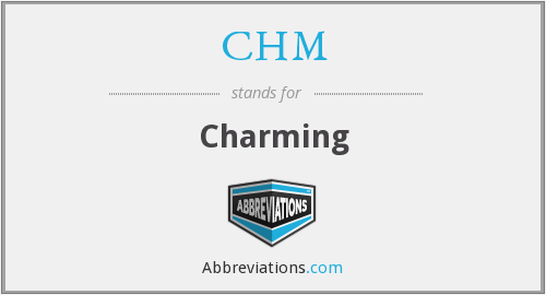 CHM - Charming