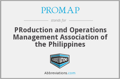 PROMAP - PRoduction and Operations Management Association of the Philippines