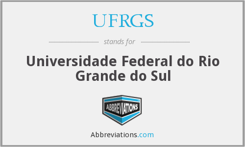 What does UFRGS stand for?