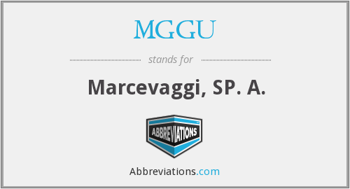 What does MGGU stand for?