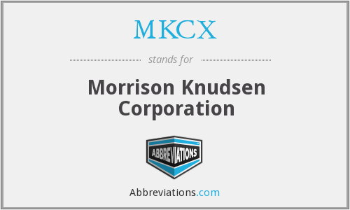 What does MKCX stand for?