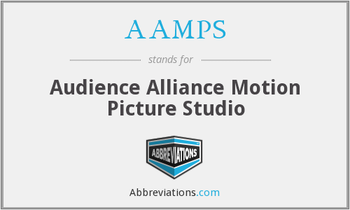 AAMPS - Audience Alliance Motion Picture Studio