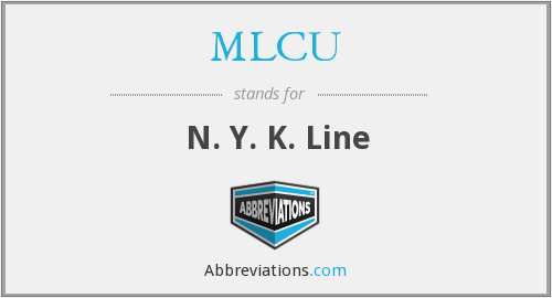 MLCU - N. Y. K. Line