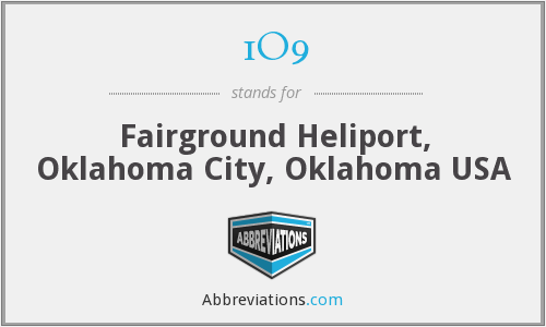 1O9 - Fairground Heliport, Oklahoma City, Oklahoma USA