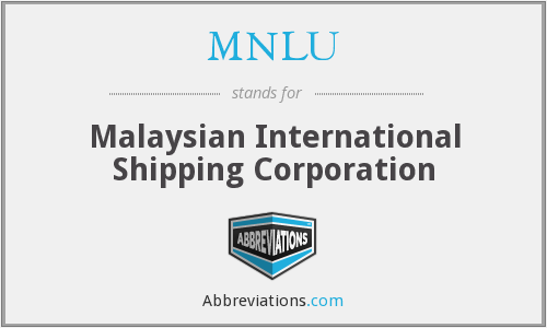 What does MNLU stand for?