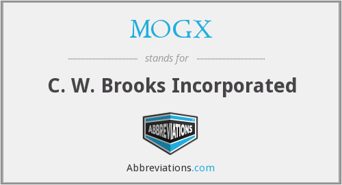 What does MOGX stand for?