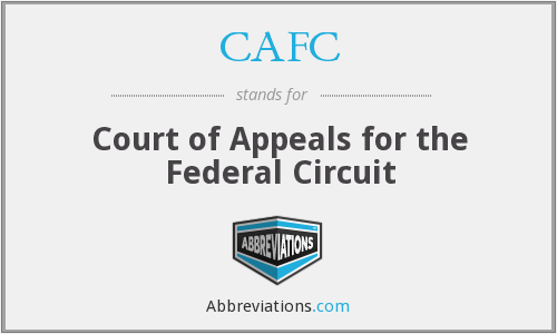 CAFC - Court of Appeals for the Federal Circuit