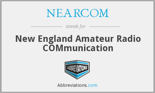 NEARCOM - New England Amateur Radio COMmunication