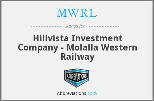 What does MWRL stand for?