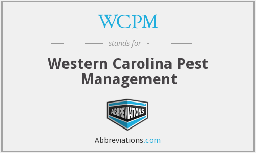 WCPM - Western Carolina Pest Management