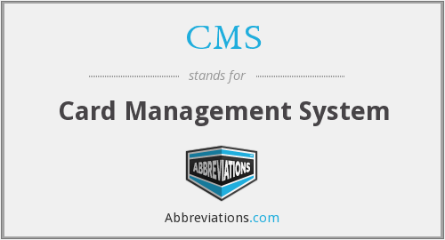 CMS - Card Management System