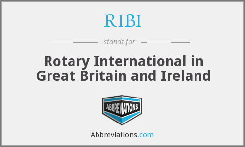 RIBI - Rotary International in Great Britain and Ireland