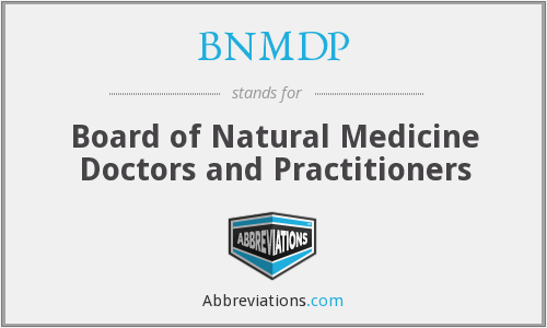 What does BNMDP stand for?