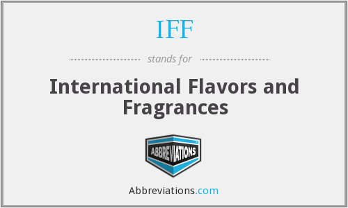 IFF - International Flavors and Fragrances