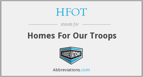 What does HFOT stand for?