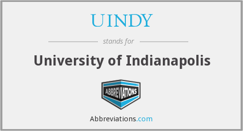 What does UINDY stand for?