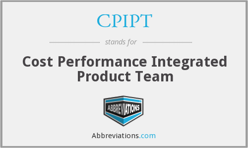 What does CPIPT stand for?