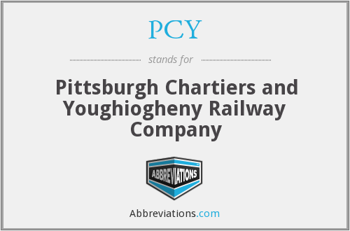 PCY - Pittsburgh Chartiers and Youghiogheny Railway Company