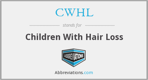 CWHL - Children With Hair Loss