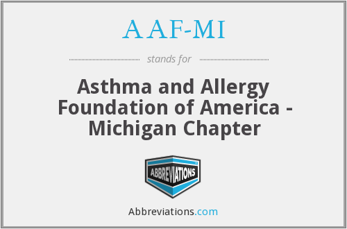 AAF-MI - Asthma and Allergy Foundation of America - Michigan Chapter