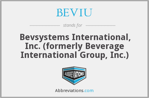 What does BEVIU stand for?