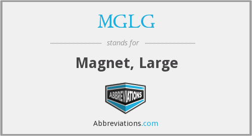 What does MGLG stand for?