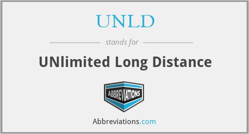 UNLD - UNlimited Long Distance