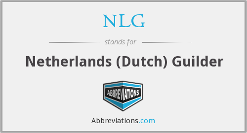NLG - Netherlands (Dutch) Guilder