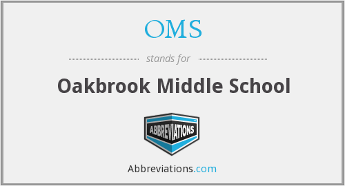 OMS - Oakbrook Middle School
