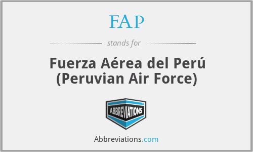 FAP - Fuerza Aérea del Perú (Peruvian Air Force)