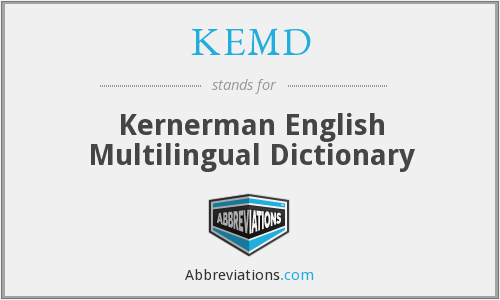 What does KEMD stand for?