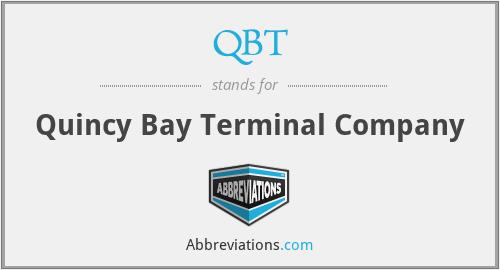 QBT - Quincy Bay Terminal Company