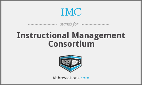 IMC - Instructional Management Consortium