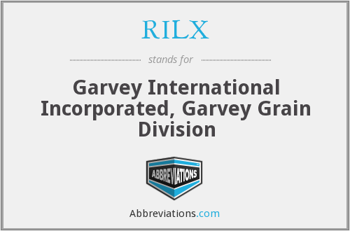 What does RILX stand for?