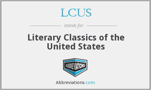 LCUS - Literary Classics of the United States