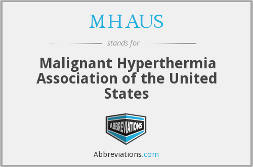 What does MHAUS stand for?