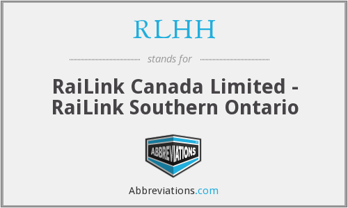 What does RLHH stand for?
