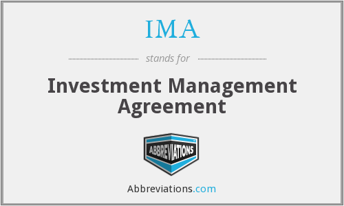 IMA - Investment Management Agreement
