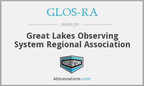 What does GLOS-RA stand for?