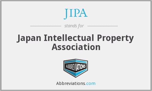 JIPA - Japan Intellectual Property Association