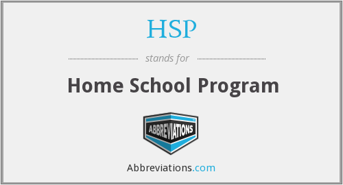 HSP - Home School Program