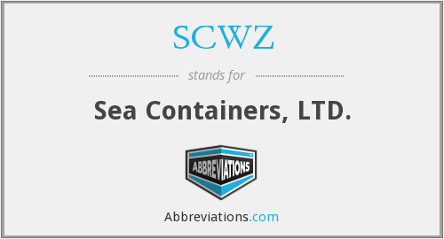 What does SCWZ stand for?