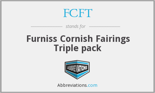 FCFT - Furniss Cornish Fairings Triple pack