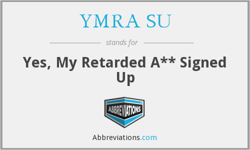 What does YMRA SU stand for?