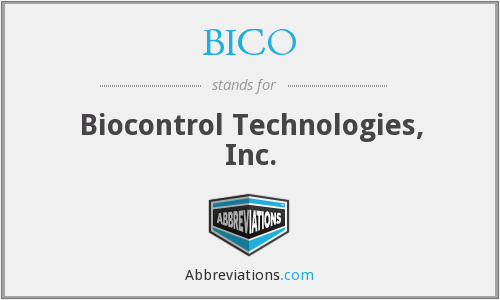 What does BICO stand for?