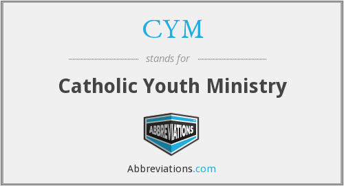CYM - Catholic Youth Ministry