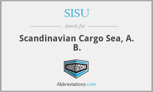 SISU - Scandinavian Cargo Sea, A. B.