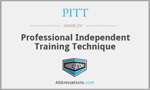 PITT - Professional Independent Training Technique