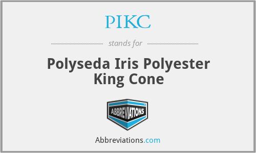 PIKC - Polyseda Iris Polyester King Cone
