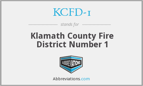 What does KCFD-1 stand for?